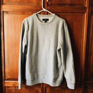Soft Gray Crewneck Sweater- Never Worn!